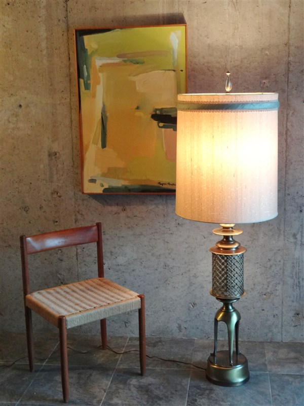 Details About Rare Huge 61 Table Lamp Ultimate 1950s 1960s Mid Century Modern Lighting